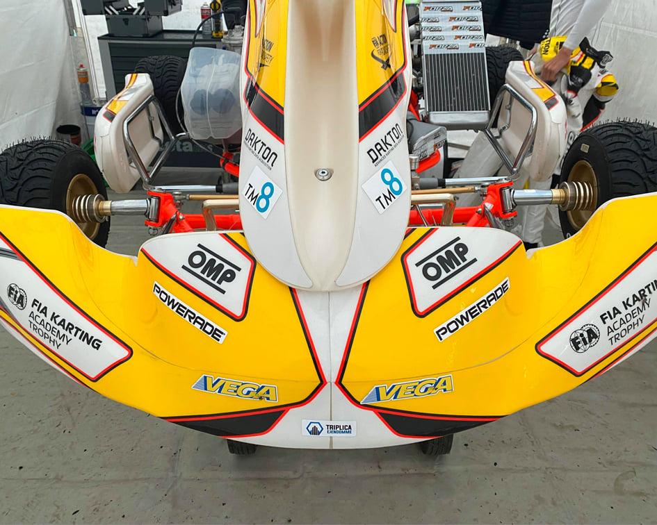 FIA Karting Academy Trophy Jonathan Weywadt TM8 Powerad Triplica Ejendommee