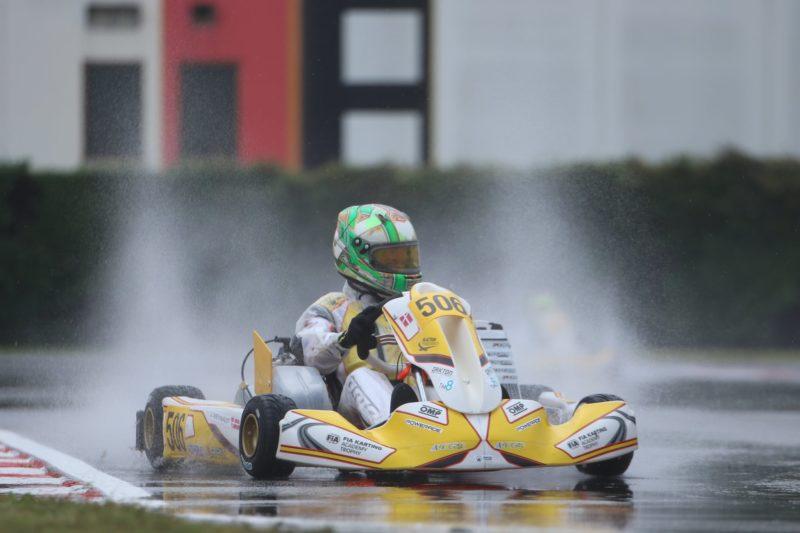 FIA Karting Academy Trophy Jonathan Weywadt 2020 Lonato