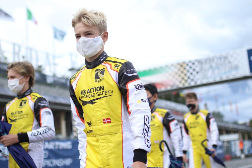 Jonathan Weywadt Lonato FIA Academy 2020